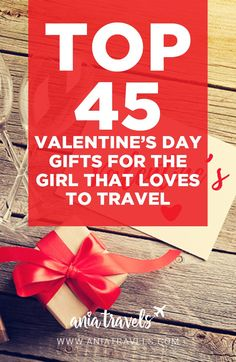 LOVE IS IN THE AIR!!!!!!! Who doesn't love some love in their lives? It doesn't matter if you're loving your girlfriend, your sister, your best friend, or whoever, Valentine's day is right around the corner, and I've put together a list of top 45 Valentine's Day gifts for the female traveler in your life. | Valentine's day | holidays | love is in the air | gift guide | holiday gift guide | best gifts | love | girls | female | solo traveler