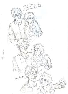 of phlegm and freckles by *burdge-bug on deviantART Harry and Ginny -- Harry Potter Memes Do Harry Potter, Arte Do Harry Potter, Harry Potter Drawings, Harry Potter Love, Harry Potter Universal, Harry Potter World, Harry E Gina, Harry And Ginny, Burdge Bug