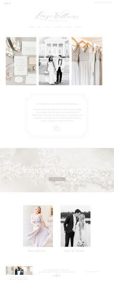 Custom Showit Website template for photographers / showit designer / website for women Custom Website, Photographer Branding, Wedding Logos, Graphic Design Branding, Web Design, Design Ideas, Website Template, A Boutique, Signature Design