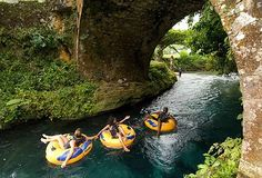 Jamaica - Blue Hole  and river tubing tour