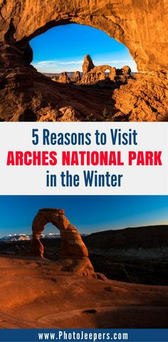 Winter is the off-season at Arches National Park which makes it a perfect time to plan a trip. Once you visit Arches National Park in the Winter, you will never again visit during the summer, and maybe avoid spring and fall as well. Check out our top 5 reasons you need to visit in the winter. You'll definitely want to save this to your travel board.