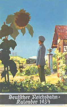 Reichsbahn-Kalender 1934