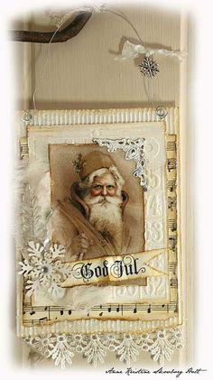 Encore une idée à suivre...from Deb Zelly.  God Jul = Merry Christmas.