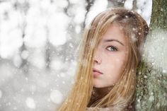 People 2048x1367 winter face women outdoors snow model