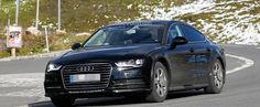 Spyshots: 2018 Audi A7 Chassis Testing Mule Seen for the First Time - Photo Gallery