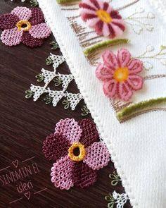 Tavşanlı Yelek Modeli Anlatımlı Yapılışı Needle Lace, Crochet Necklace, Embroidery, Knitting, Instagram Posts, Pink, Board, Lace, Dots