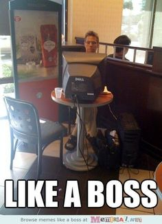 I do want to do this at the Starbucks who's managers have once pissed me off :-)