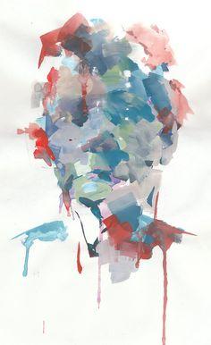 headpiece goauche on paper, 2011 Portrait Art, Akira, Headpiece, Red And Blue, Art Drawings, Culture, Graphic Design, Paper, Creative
