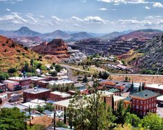 Bisbee, Arizona, was founded as a copper, gold, and silver mining town in 1880, and named in honor of Judge DeWitt Bisbee, one of the financial backers of the adjacent Copper Queen Mine. In 1929, the Cochise County seat was moved from Tombstone, Arizona, to Bisbee, where it remains.
