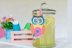 #freshlemonade #owl #lemonadebar Lemonade Bar, Christening Decorations, Greece, Owl, Water Bottle, Drinks, Greece Country, Drinking, Beverages