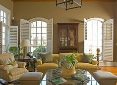 Interior Shutters Design Ideas, Pictures, Remodel and Decor