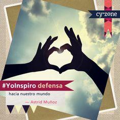 Tú también puedes inspirar! Cuéntanos con #YoInspiro en tu status de Facebook o Twitter! Descubre nuestro nuevo look en www.cyzone.com
