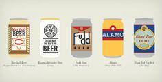 Fantastical Pop Culture Fictive Beers Print   Cool Material