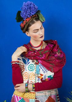 Inspiration Frida Kahlo – GUDRUN SJÖDÉN – Webshop, mail order and boutiques   Colourful clothes and home textiles in natural materials.