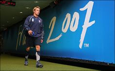 Wilkinson walks out of the tunnel as England train ahead of the 2007 Rugby World Cup final v South Africa. England would lose a tight match the Springboks ...