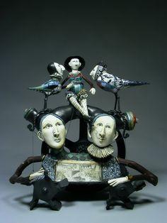 Sculptures by Northwest Artist, Robin and John Gumaelius