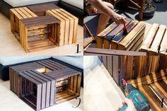Alte Obstkisten alte obstkisten neuer tisch shelves