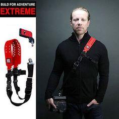 Купить товар2015 новый бренд скорость переноса exptreme цифровая камера плечевой ремень персонализированные одна шеи слинг ремень для canon зеркальных цифровых зеркальных камер в категории Аксессуары для фотостудиина AliExpress.             2015 Новый бренд скорость Carry exptreme цифровой камеры плечевой ремень персонализированные Одноместный шеи