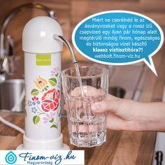 Rendelj most 1-3 fős haztartásod vagy irodád részére 2 éven át mindig finom és biztonságos vizet előállító népszerű Wellnet W25 Magnetic Duo mágneses víztisztítót, most olcsóbb, gyártói ár közvetlenül a gyártótól, soha nem maradsz magadra víztisztítóddal, 2 év után töredék áron egyedülálló töltetcsere szolgáltatás. Már több mint 50 ezer Magyar háztartásban ott vannak a legnépszerűbb Magyar W25 víztisztítók, így használóik már soha nem cipekednek és költenek kisebb vagyonokat ásványvízre… Minion, Magnets, Soap, Bottle, Tableware, Dinnerware, Flask, Tablewares, Minions