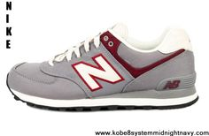 Buy Latest Listing New Balance 574 ML574RUB Sliver White Red Latest Now
