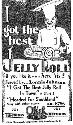 Lonnie Johnson | Chicago Defender Ad, June 7, 1930