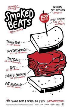 Pop Montreal Present Smoked Beats: Touchy Mob. Tonstartssbandht. Teendaze. Tops. Miracle Fortress. Pat Jordache.