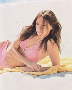 Jennifer O'Neill looking stunning in a pink bikini circa early Jennifer O'neill, Ford Modeling Agency, Model Agency, Barbara Ann, Cinema, Bikini Images, Pink Bikini, Looking Stunning, American Actress