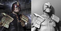 Judge Dredd • Ian Anderson CG Artist