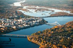 Summer in the city of Rovaniemi, Finnish Lapland. Photo by Jani Kärppä/ Lappikuva. Travel Memories, Filming Locations, Arctic, Wilderness, Adventure, City, Autumn Fall, Ponds, Waterfalls