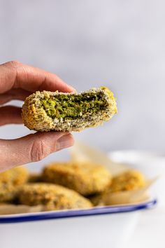 These oven-baked lentil nuggets are prepared with a vegan filling of green lentils, spinach, and tofu. They're perfect as a party nibble or light lunch. baked lentil patties,veggie nuggets,vegetable nuggets,spinach lentil nuggets,tofu nuggets,healthy nuggets #vegan #govegan #dairyfree #recipe #cooking #food Tofu Recipes, Sauce Recipes, Lentil Patty, Arancini Recipe, Veggie Nuggets, Nibbles For Party, Dairy Free Eggs, High Fiber Foods, Green Lentils