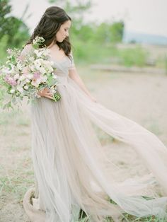 Fine Art Wedding Dresses from Etsy