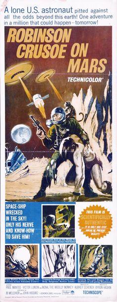 Robinson Crusoe On Mars (1964).
