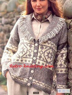 PDF Knitting Pattern for a Ladies Shawl by TheKnittingSheep