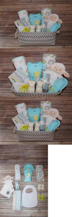 Other Baby 1261: Beautiful Neutral Gray Baby Gift Basket Perfect For Baby Shower Or Newborn Gift! -> BUY IT NOW ONLY: $60 on eBay! Baby Shower Gift Basket, Baby Shower Diapers, Baby Boy Shower, Baby Shower Gifts, Newborn Gifts, Baby Gifts, Baby Gift Wrapping, Unique Baby Shower Themes, Diaper Parties