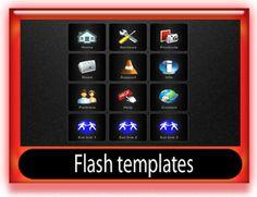 Professional flash template