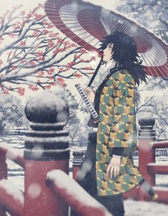 Giyuu - Demon Slayer/Kimetsu no Yaiba Anime Demon, Manga Anime, Anime Art, Demon Slayer, Slayer Anime, Blue Exorcist, Inu Yasha, Demon Hunter, Cowboy Bebop