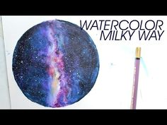 WATERCOLOR [MILKY WAY] - YouTube