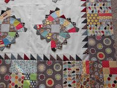 Fabrics & Flowers: Twirling Fans Pattern