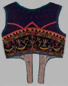 Embroidered vest, Minho
