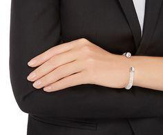 LOVE. Crystaldust Cuff, White from #Swarovski