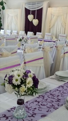 Wedding Ideas, Weddings, Table Decorations, Home Decor, Lilac, Decoration Home, Room Decor, Wedding, Home Interior Design