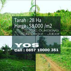 Tanah Murah di Suka Jaya Bogor