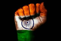 Happy Independence Day, Hand with Indian Flag painting Happy Independence Day Status, Independence Day Pictures, Independence Day Images, India Independence, Indian Flag Photos, Freedom Fighters Of India, Indian Flag Wallpaper, K Dick, Republic Day India
