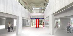 Zestien metrostations Oostlijn op de schop - Entree Venserpolder