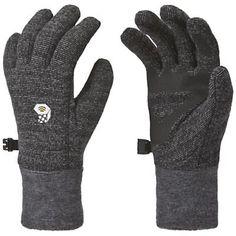 bicycling gloves  Mountain Hardwear Women's Heavyweight Wool Stretch Glove