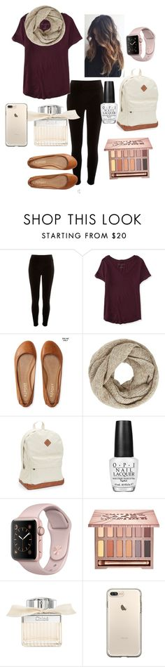 """Fall School Day"" by ebellows18 ❤ liked on Polyvore featuring River Island, Aéropostale, John Lewis, OPI, Urban Decay and Chloé"