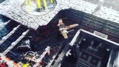 Star Wars Death Star, Lego Star Wars Mini, Star Wars Ships, Star Wars Clone Wars, Star Wars Art, Star Wars Darth Vader, Darth Vader Lightsaber, Lego Stormtrooper, Dioramas