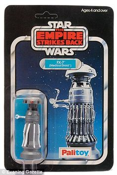 I have an open FX7 - can this really be valuable?  Or is it just a fluke?    Loot Skywalker: A bidder paid a record-breaking £7,000 for a Star Wars collectable - an original 1980 Palitoy Empire Strikes Back medical droid