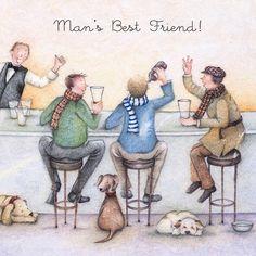 Cards » Man's Best Friend » Man's Best Friend - Berni Parker Designs