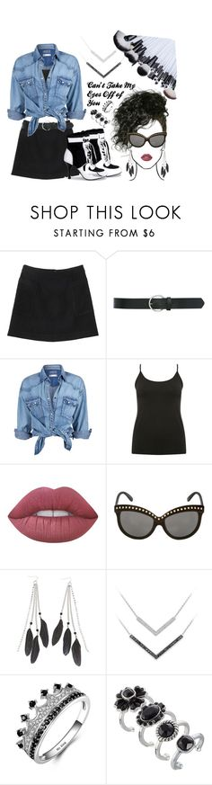 """Lauryn Hill- Can't Take My Eyes Off of You"" by texasradiance ❤ liked on Polyvore featuring Monki, M&Co, Soul Cal, Lime Crime, Italia Independent, Charlotte Russe and Marc Jacobs"
